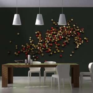 Fototapeta  Kompozycja z kolorowego pieprzu