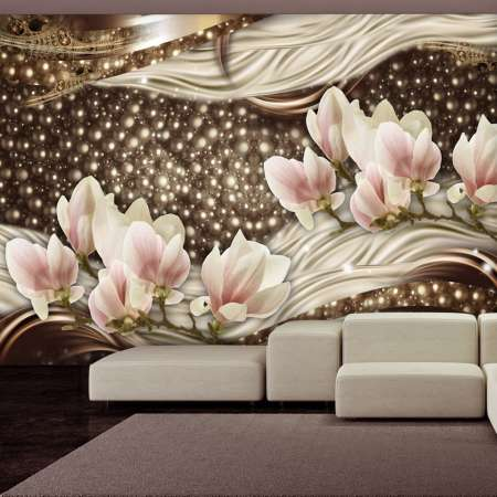 Fototapeta  Perły i magnolie