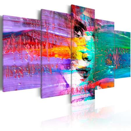 Obraz  Kolorowa zmysłowość