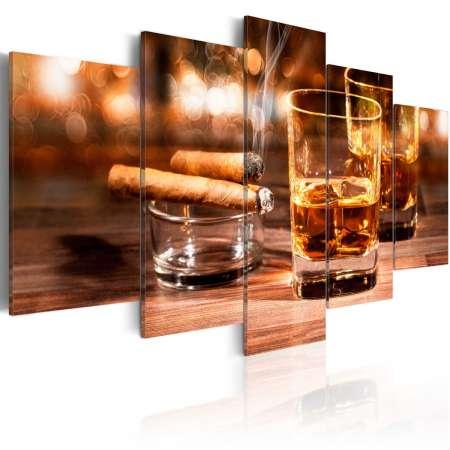 Obraz  Whisky i cygaro