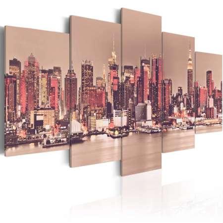 Obraz  NY  The City That Never Sleeps