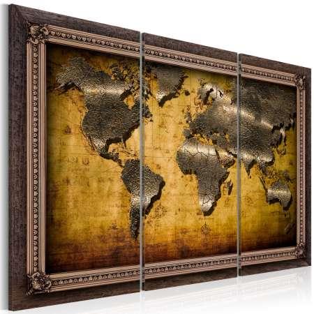 Obraz  Świat w ramach