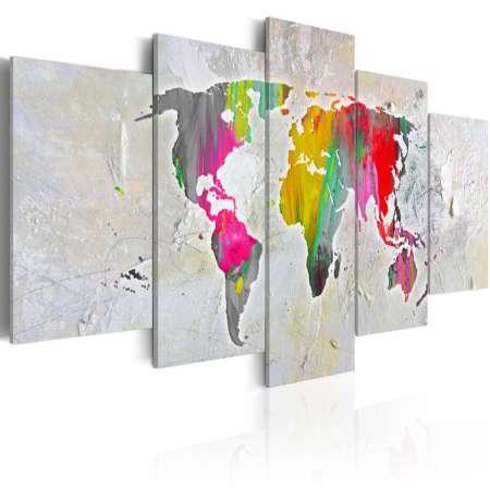 Obraz  Ilustracja świata