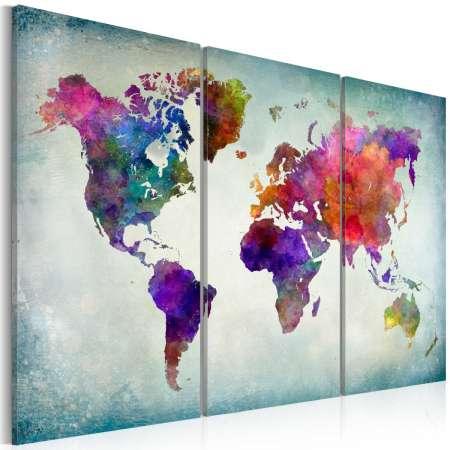 Obraz  Świat w kolorach
