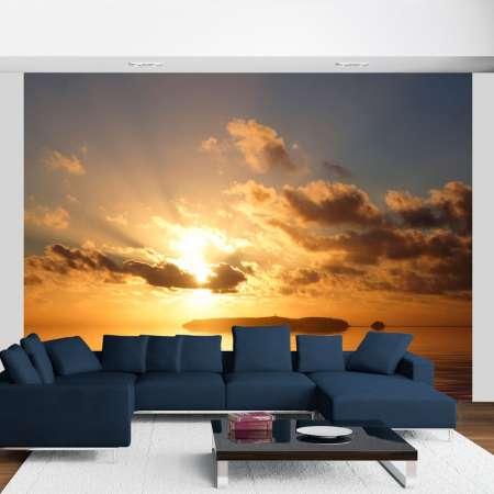 Fototapeta  morze  zachód słońca