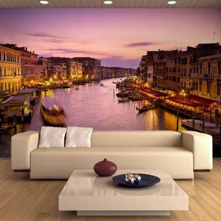 Fototapeta  Miasto zakochanych  Wenecja nocą
