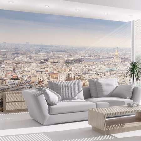 Fototapeta  Paryż  widok z lotu ptaka