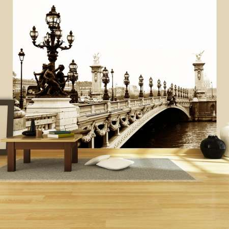 Fototapeta  Most Aleksandra III, Paryż