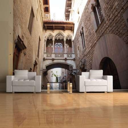 Fototapeta  Barcelona Palau generalitat in gothic Barrio