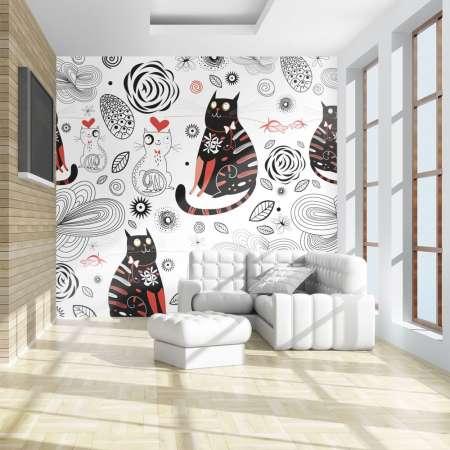 Fototapeta  Zakochane koty