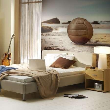 Fototapeta  Piłka na plaży