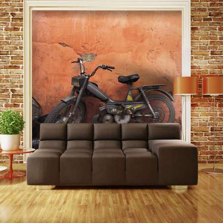 Fototapeta  Old moped