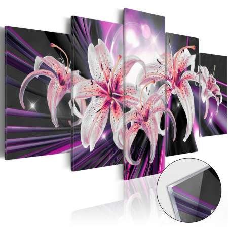 Obraz na szkle akrylowym  Fioletowa inspiracja [Glass]