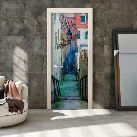 Fototapeta na drzwi  Chorwacka uliczka