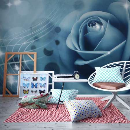 Fototapeta  Blue rose