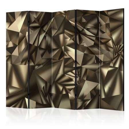 Parawan 5częściowy  Abstrakcyjna symetria II [Room Dividers]