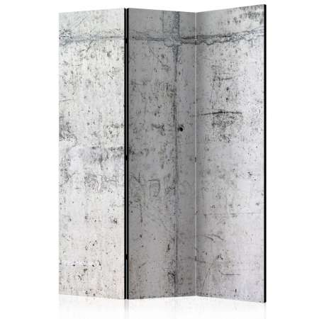 Parawan 3częściowy  Betonowa ściana [Room Dividers]