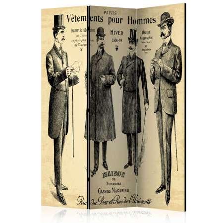 Parawan 3częściowy  Vêtements pour Homme [Room Dividers]