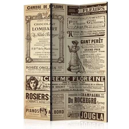 Parawan 3częściowy  Vintage Magazines [Room Dividers]