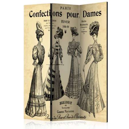 Parawan 3częściowy  Confections pour Dames  [Room Dividers]