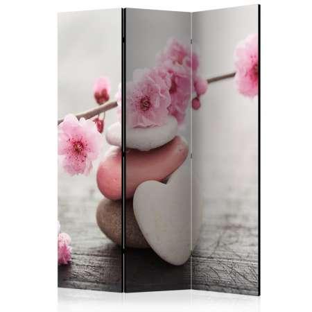 Parawan 3częściowy  Kwiaty Zen [Room Dividers]