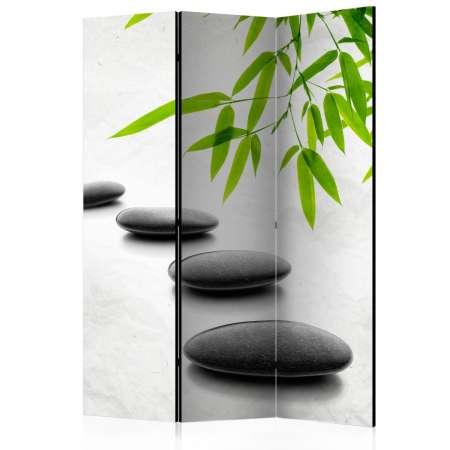 Parawan 3częściowy  Kamienie Zen [Room Dividers]