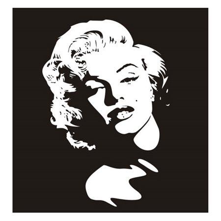 Naklejka dekoracyjna PX 207, PX207,  Marilyn Monroe