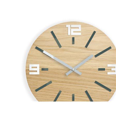 Zegar ścienny Marco White&Grey