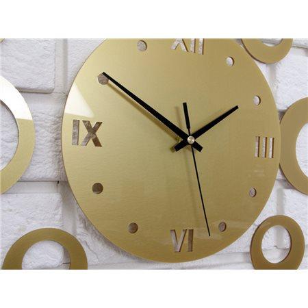 Zegar ścienny Ring Gold