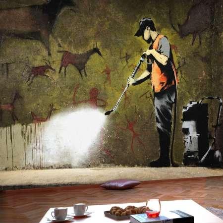 Fototapeta  Banksy  Cave Painting