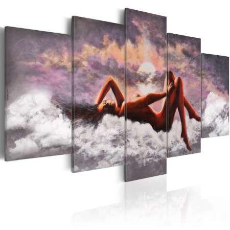 Obraz  Akt w chmurach