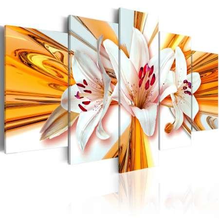 Obraz  Złoto lilii