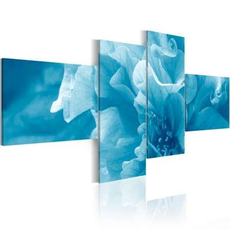 Obraz  Błękitny kwiat azalii