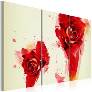 Obraz  Nowe spojrzenie na różę