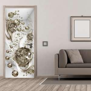 Fototapeta na drzwi  Bąbelkowa abstrakcja