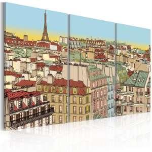 Obraz  Cukierkowy Paryż
