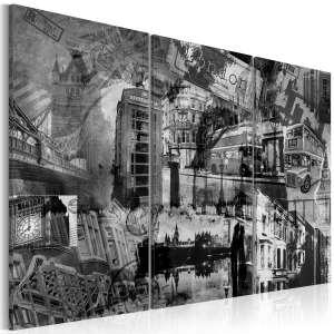 Obraz  Esencja Londynu  tryptyk