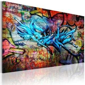 Obraz  Anonymous graffiti