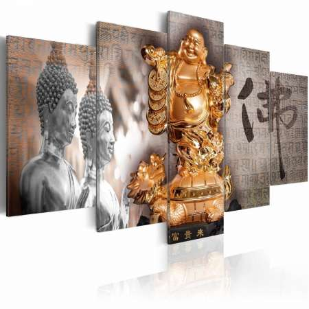 Obraz  Smile to Buddha!