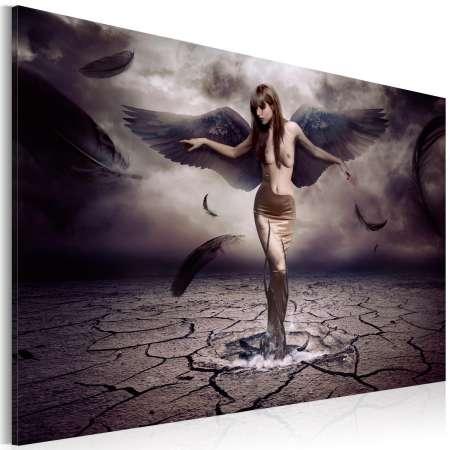Obraz  Czarny anioł