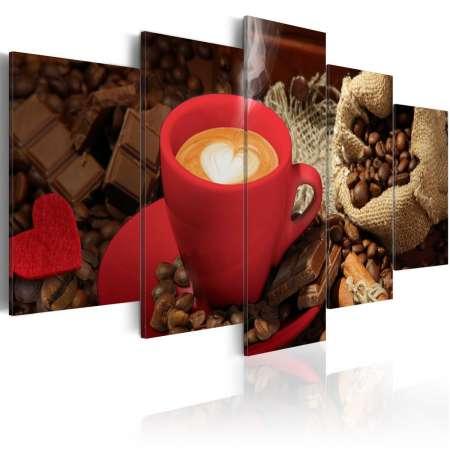 Obraz  Love espresso