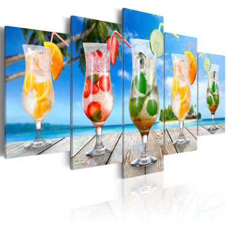 Obraz  Summer drinks