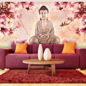 Fototapeta XXL  Budda i magnolia