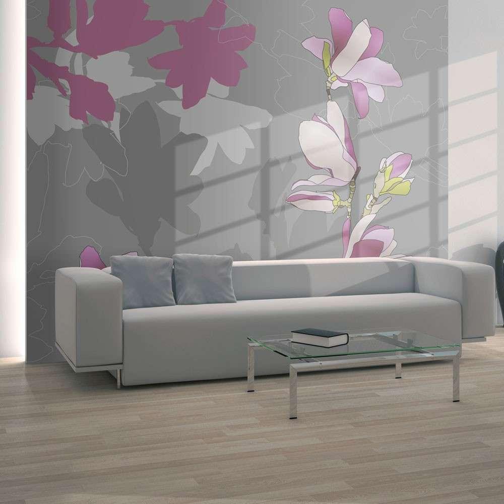 Fototapeta  magnolia (różowy)