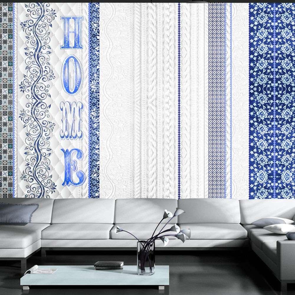 Fototapeta  Vintage home  blue