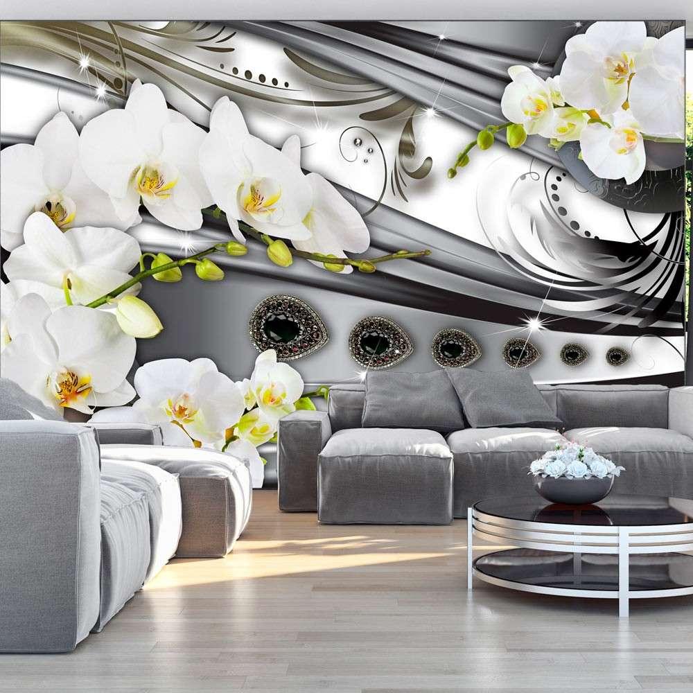 Fototapeta  Orchidee & biżuteria
