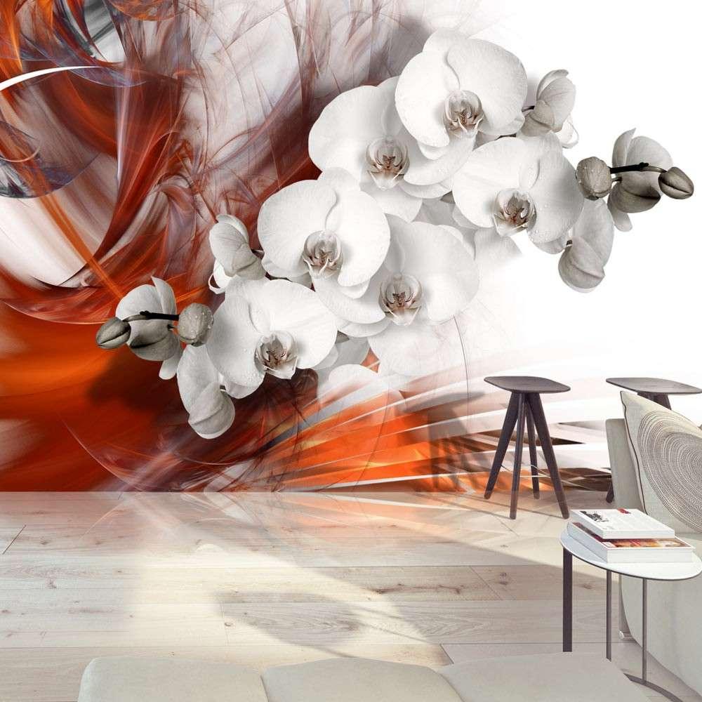 Fototapeta  Orchidea w ogniu II
