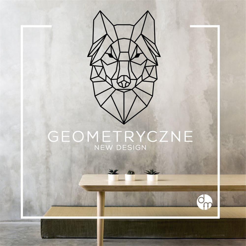 Naklejka dekoracyjna GX02, wilk GX 02