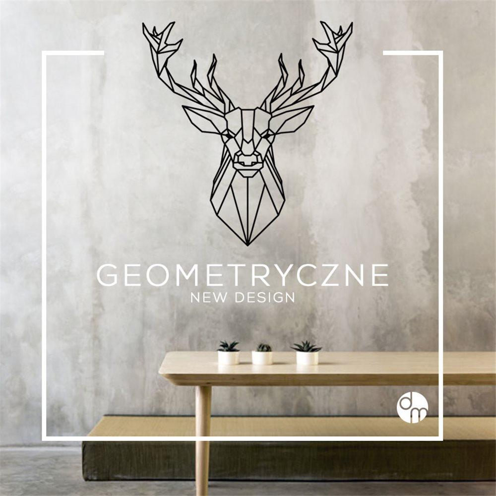 Naklejka dekoracyjna GX01, jeleń