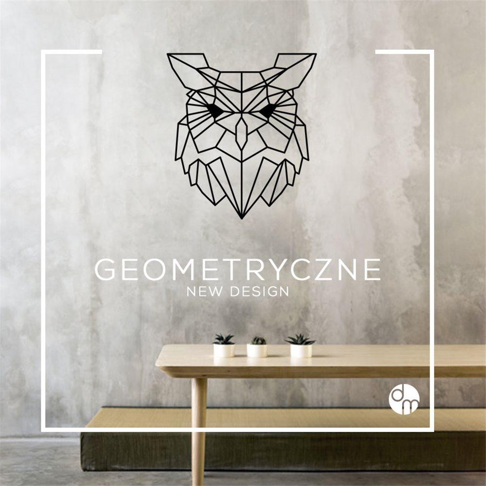 Naklejka dekoracyjna GX05, wilk, geometryczne, GX 05